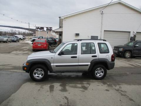 2006 Jeep Liberty for sale at ROUTE 119 AUTO SALES & SVC in Homer City PA