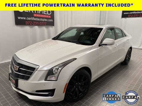 2018 Cadillac ATS for sale at CERTIFIED AUTOPLEX INC in Dallas TX