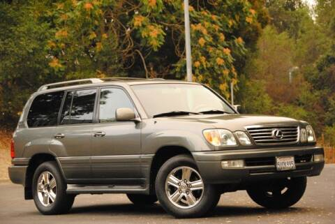 2006 Lexus LX 470 for sale at VSTAR in Walnut Creek CA