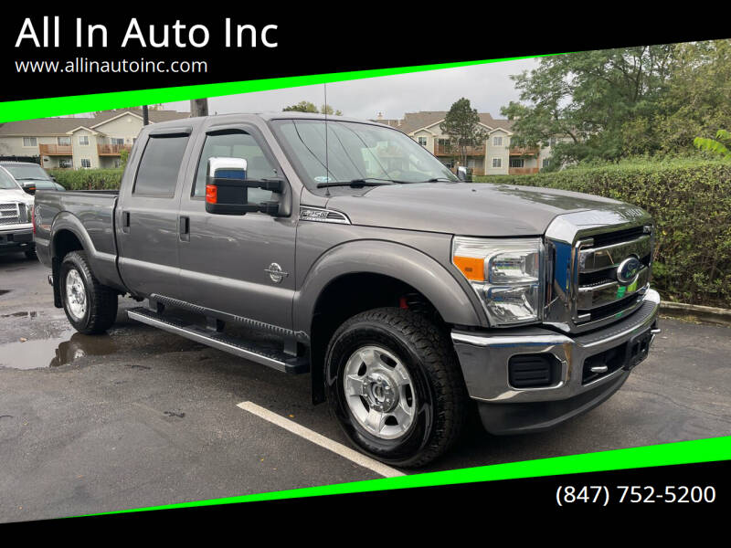 2011 Ford F-250 Super Duty for sale at All In Auto Inc in Palatine IL