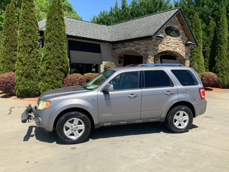 2008 Ford Escape Hybrid for sale at Hoyle Auto Sales in Taylorsville NC