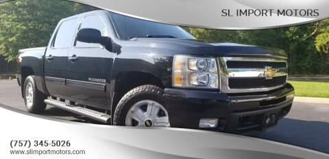2011 Chevrolet Silverado 1500 for sale at SL Import Motors in Newport News VA