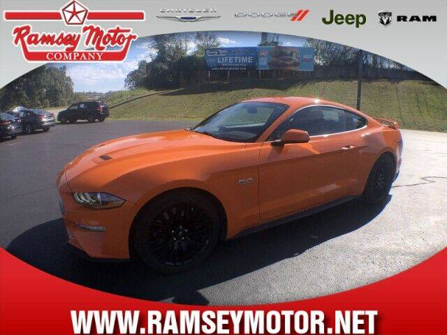 2020 Ford Mustang for sale at RAMSEY MOTOR CO in Harrison AR