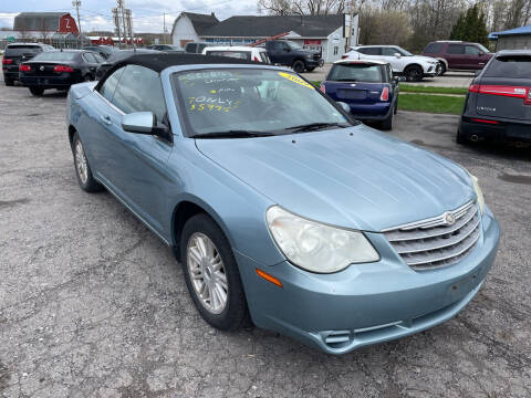 2009 Chrysler Sebring for sale at Peter Kay Auto Sales in Alden NY