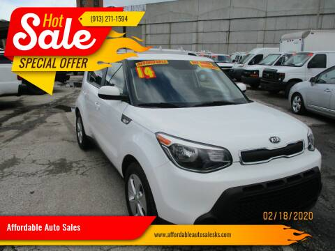 2014 Kia Soul for sale at Affordable Auto Sales in Olathe KS
