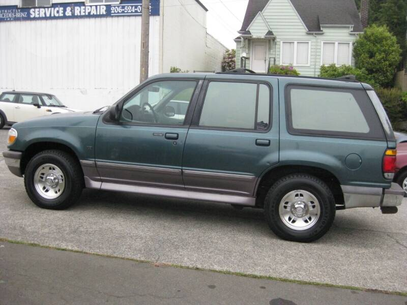 1996 Ford Explorer for sale at UNIVERSITY MOTORSPORTS in Seattle WA