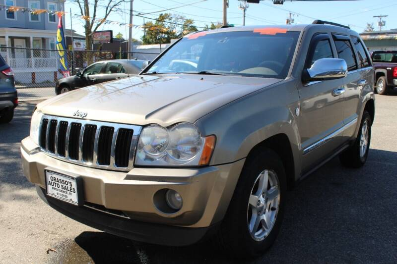 2006 Jeep Grand Cherokee for sale at Grasso's Auto Sales in Providence RI