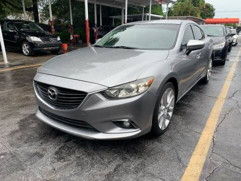 2014 Mazda MAZDA6 for sale at America Auto Wholesale Inc in Miami FL