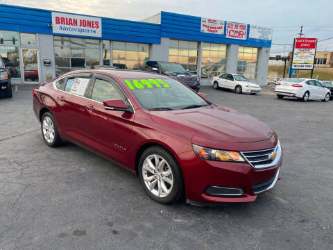 2017 Chevrolet Impala for sale at Brian Jones Motorsports Inc in Danville VA