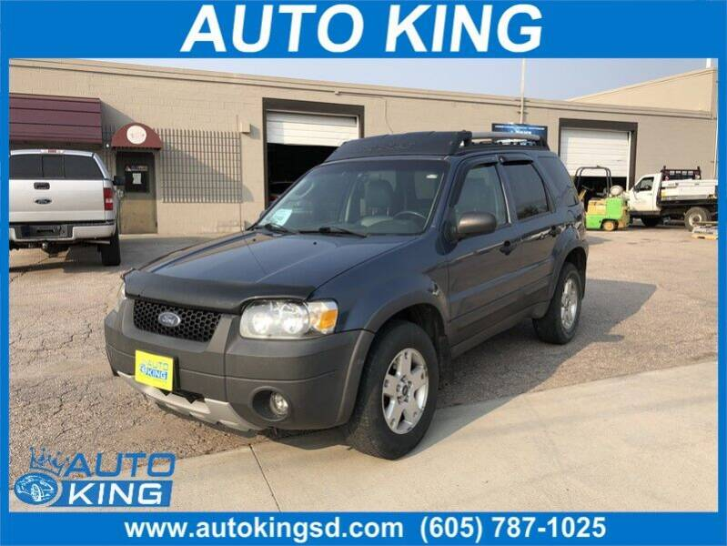 2005 Ford Escape for sale at Auto King in Rapid City SD
