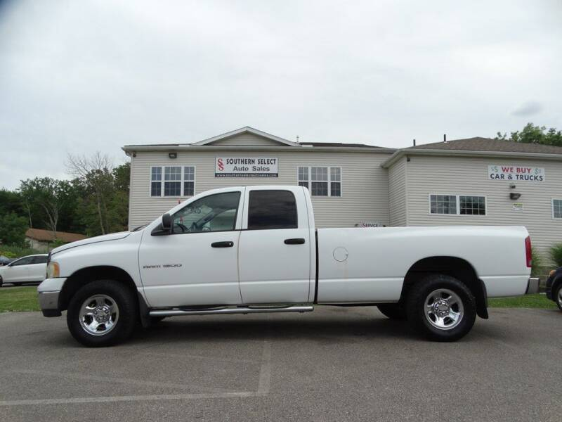 2003 Dodge Ram Pickup 1500 for sale at SOUTHERN SELECT AUTO SALES in Medina OH