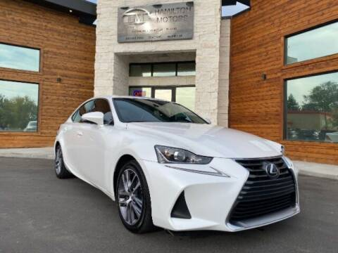 2018 Lexus IS 300 for sale at Hamilton Motors in Lehi UT