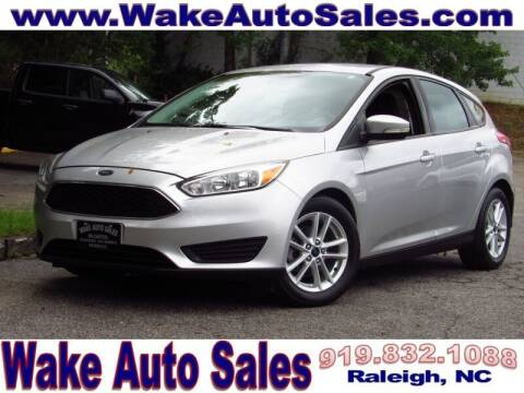 2017 Ford Focus for sale at Wake Auto Sales Inc in Raleigh NC