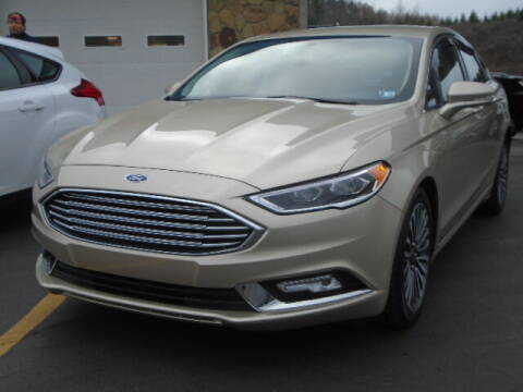 2018 Ford Fusion for sale at Rogos Auto Sales in Brockway PA