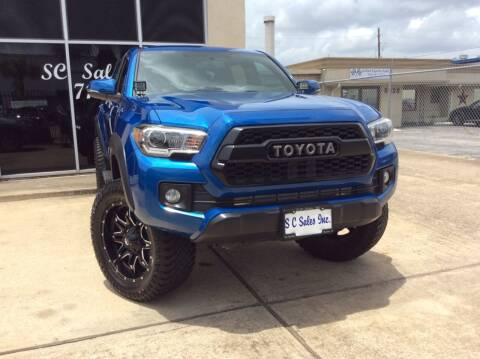 2017 Toyota Tacoma for sale at SC SALES INC in Houston TX