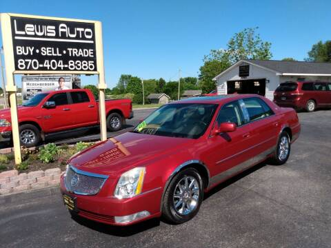 2011 Cadillac DTS for sale at LEWIS AUTO in Mountain Home AR
