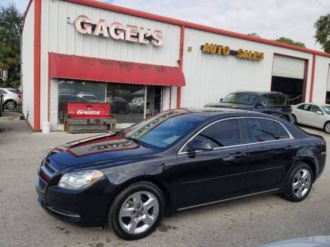 2010 Chevrolet Malibu for sale at Gagel's Auto Sales in Gibsonton FL