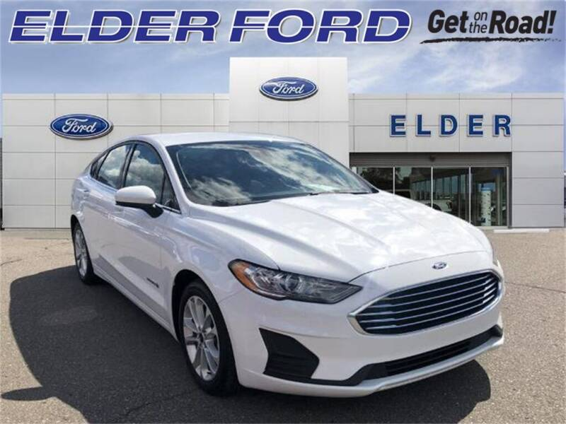2019 Ford Fusion Hybrid for sale at Mr Intellectual Cars in Troy MI