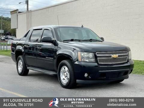 2010 Chevrolet Avalanche for sale at Ole Ben Franklin Motors-Mitsubishi of Alcoa in Alcoa TN