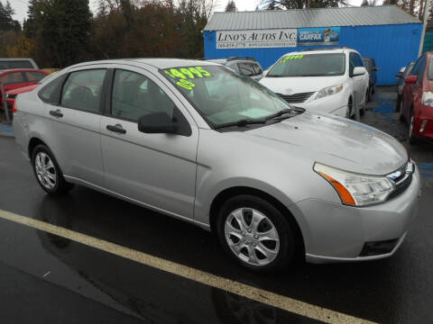 2009 Ford Focus for sale at Lino's Autos Inc in Vancouver WA
