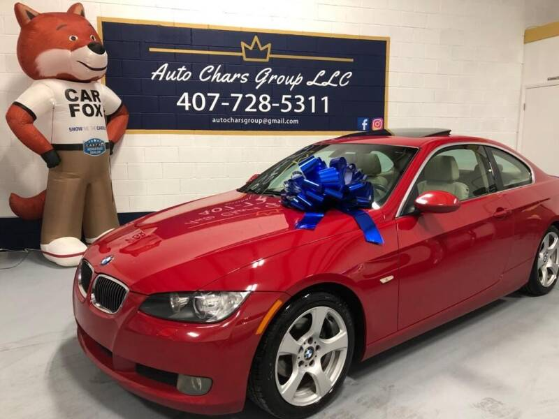 2007 BMW 3 Series for sale at Auto Chars Group LLC in Orlando FL