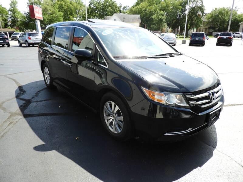 2015 Honda Odyssey for sale at Grant Park Auto Sales in Rockford IL
