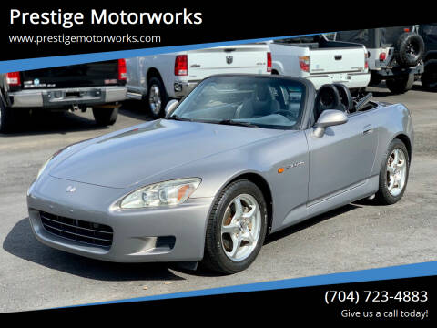 2000 Honda S2000 for sale at Prestige Motorworks in Concord NC