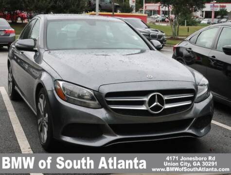 2018 Mercedes-Benz C-Class for sale at Carol Benner @ BMW of South Atlanta in Union City GA