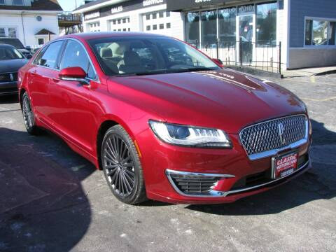 2018 Lincoln MKZ Hybrid for sale at CLASSIC MOTOR CARS in West Allis WI