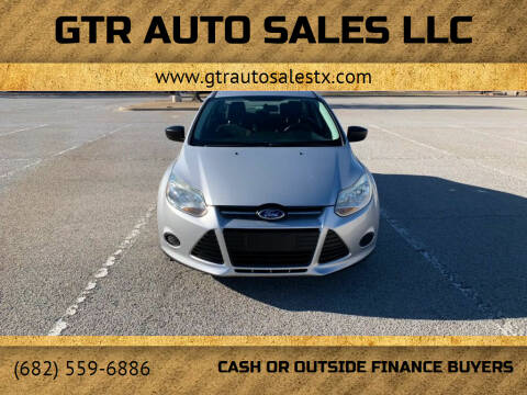 2014 Ford Focus for sale at GTR Auto Sales LLC in Haltom City TX