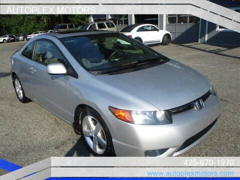 2008 Honda Civic for sale at Autoplex Motors in Lynnwood WA