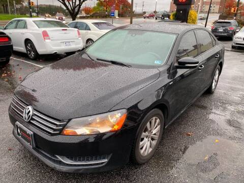 2013 Volkswagen Passat for sale at DC Motorcars in Springfield VA
