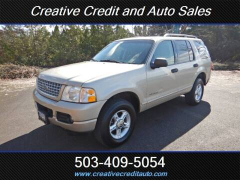 2004 Ford Explorer for sale at Creative Credit & Auto Sales in Salem OR