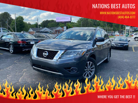 2013 Nissan Pathfinder for sale at Nations Best Autos in Decatur GA