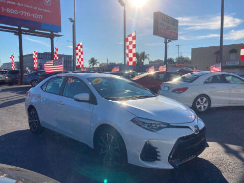 2017 Toyota Corolla for sale at MACHADO AUTO SALES in Miami FL