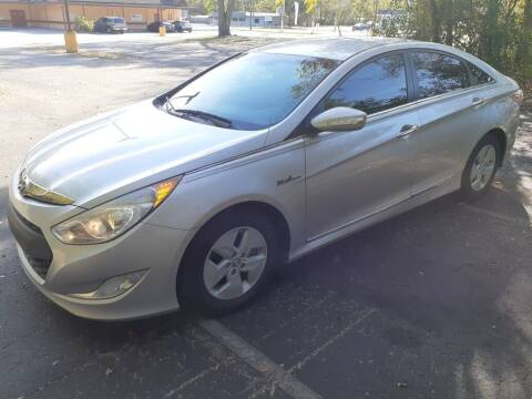 2011 Hyundai Sonata Hybrid for sale at Royal Auto Mart in Tampa FL