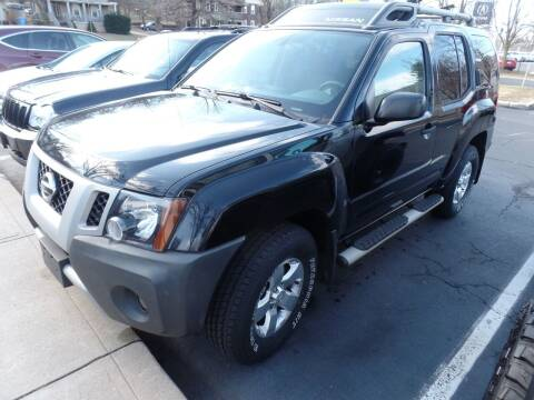 2010 Nissan Xterra for sale at CAR CORNER RETAIL SALES in Manchester CT
