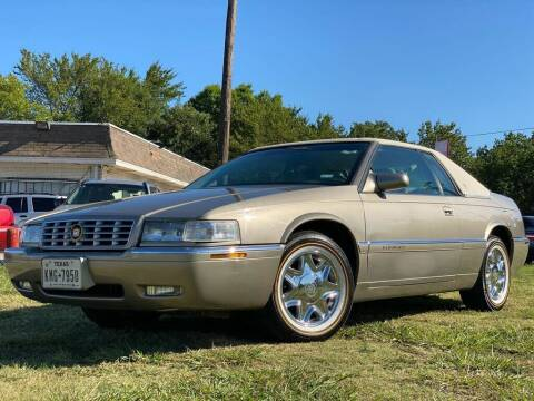 1999 Cadillac Eldorado for sale at Cash Car Outlet in Mckinney TX
