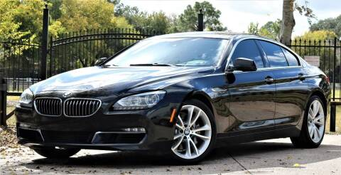 2013 BMW 6 Series for sale at Texas Auto Corporation in Houston TX