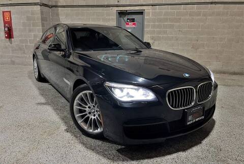 2013 BMW 7 Series for sale at Haus of Imports in Lemont IL