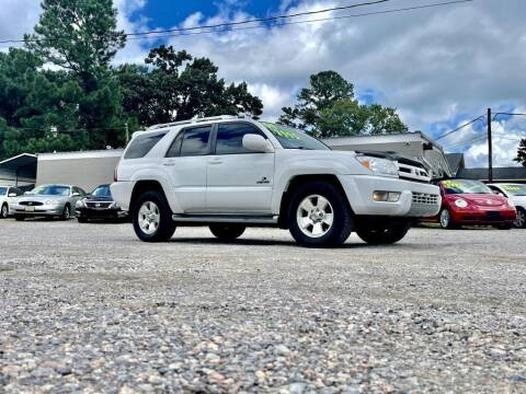 2004 Toyota 4Runner for sale at Barrett Auto Sales in North Augusta SC
