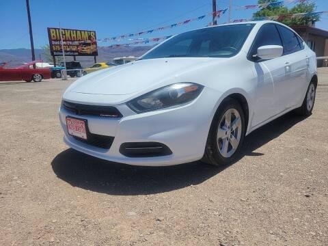 2016 Dodge Dart for sale at Bickham Used Cars in Alamogordo NM