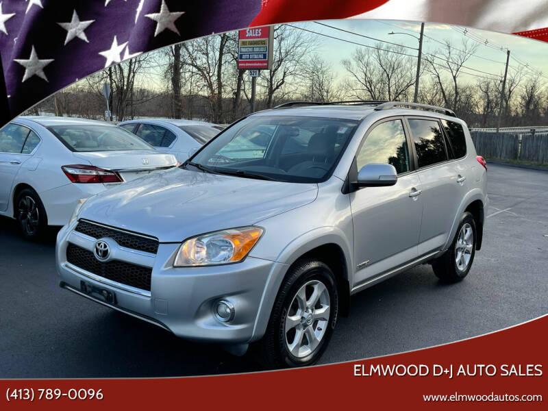 2009 Toyota RAV4 for sale at Elmwood D+J Auto Sales in Agawam MA