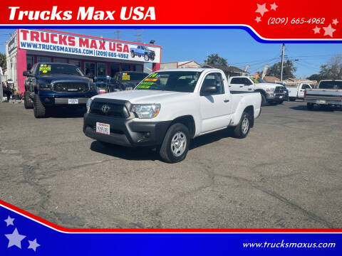 2014 Toyota Tacoma for sale at Trucks Max USA in Manteca CA