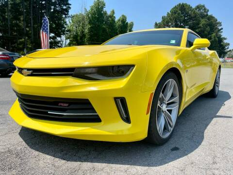 2018 Chevrolet Camaro for sale at Airbase Auto Sales in Cabot AR