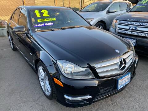 2012 Mercedes-Benz C-Class for sale at CAR GENERATION CENTER, INC. in Los Angeles CA