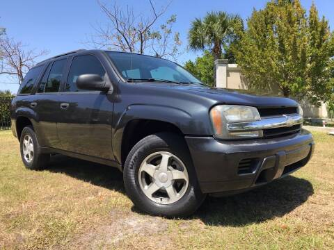 2006 Chevrolet TrailBlazer for sale at Kaler Auto Sales in Wilton Manors FL