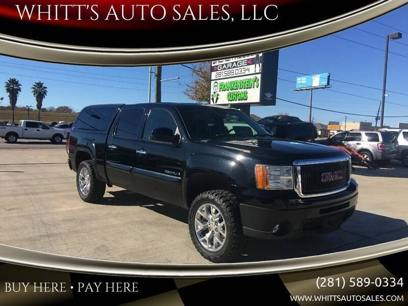 2009 GMC Sierra 1500 for sale at WHITT'S AUTO SALES, LLC in Houston TX