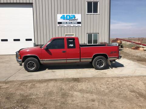 1998 Chevrolet C/K 1500 Series for sale at 402 Autos in Lindsay NE