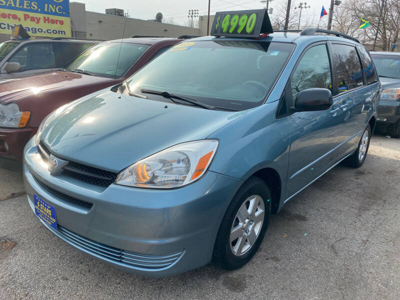 2005 Toyota Sienna for sale at 5 Stars Auto Service and Sales in Chicago IL